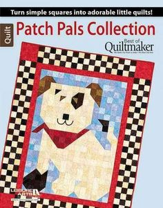 "Turn simple squares into adorable little quilts! This book from Quiltmaker magazine brings together the first 12 quilts in its Patch Pals series. The quilts are all the same size (40"" x 50""), with int"