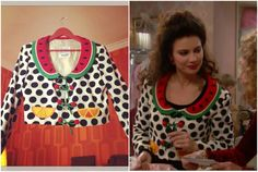 What Fran Wore: Moschino Cheap & Chic Fruit Top