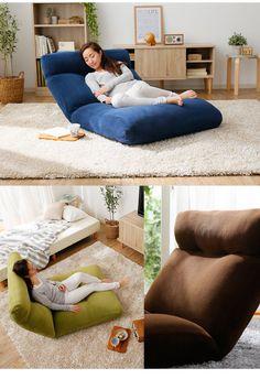 Zaisu Floor Sofa Armchair Big Piglet Recliner Perfect