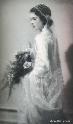 Vivien Leigh - 1932 - on her wedding day - @~ Watsonette