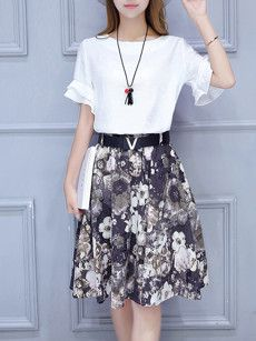 Fashionmia white short sleeve blouses for women - Fashionmia.com