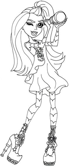 Pin by Dana Kroh on Coloring pages   Pinterest   Monster ...