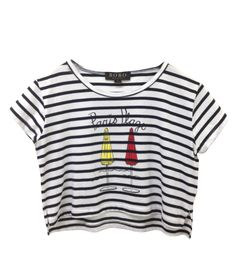 Staff Love That!  Paris Plage Cropped Tee, Bobo House, $78