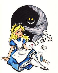 First Prize - Alice In Wonderland by BlueUndine.deviantart.com on @DeviantArt