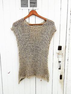 Summer Knitting, Hand Knitting, Summer Days, Summer Beach, Creative Knitting, Beach Tops, Grunge Fashion, Crochet Clothes, Pretty Outfits