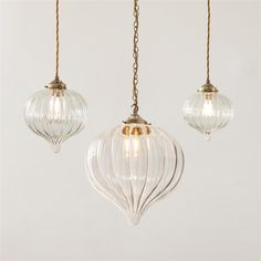 Mia Glass Pendant Light in Antiqued Brass - All For Decoration Lampe Art Deco, Deco Luminaire, Ceiling Rose, Ceiling Lights, Light In, Curved Glass, Home And Deco, Glass Pendants, Kitchen Pendants