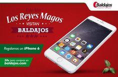 Los Reyes Magos te traen un iPhone 6....Será mi alegría del 15....ya saben..abrazos