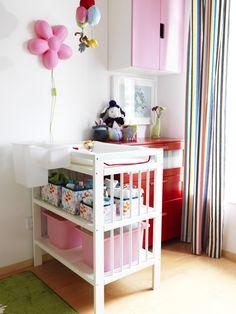 Met deze GULLIVER commode maak je de babykamer helemaal af.