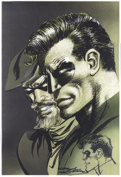 Green Arrow and Green Lantern by Neal Adams