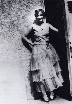 """Vivian Vance outside the stage door of the KiMo Theater during """"Cushman's Revue,"""" 1930 - Loving Vivian Vance: The highs and lows of an Albuquerque legend"""
