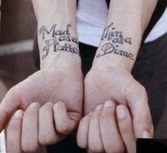 Ryan Ross' tattoos. :)