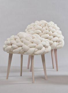 Cloud Stool van Jung You Choi