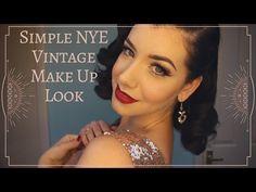 NYE Vintage Eye Makeup Tutorial - Miss Victory Violet