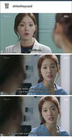 "-doctor- drama is ""The Doctor"" Heirs Korean Drama, Korean Drama Funny, Korean Drama Quotes, Drama Korea, Korean Dramas, Kdrama Memes, Funny Kpop Memes, Weightlifting Fairy Kim Bok Joo Funny, Lee Min Ho Kdrama"