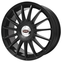 TEAM DYNAMICS MONZA R BLACK SATIN alloy wheels with stunning look for 5 studd wheels in BLACK SATIN finish with 16 inch rim size