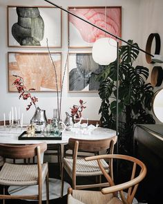 8 Artsy rooms that will get you started in redecorating your home in February (Daily Dream Decor) Design Interior Living Room Easy Home Decor, Home Decor Bedroom, Living Room Decor, Table En Granit, Home Interior Design, Interior Decorating, Room Interior, Decorating Ideas, Decor Ideas