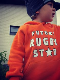 Eino with Future Rugby Star http://ruckinshirtsbaby.spreadshirt.co.uk/future-rugby-star-I14564411