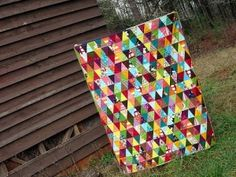 Triangles quilt by alissa