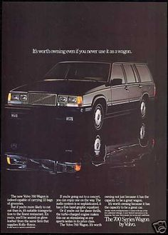 Vintage Car Advertisements of the (Page Volvo Ad, Volvo Wagon, Volvo Estate, Car Brochure, Ford, Car Advertising, Old Ads, Station Wagon, Car Photos