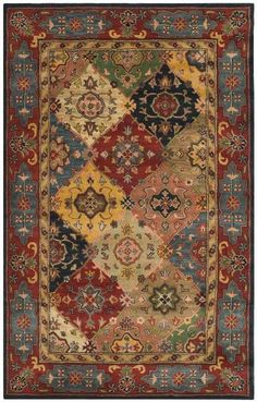 Buy the Safavieh Red / Multi Direct. Shop for the Safavieh Red / Multi Heritage x Rectangle Wool Hand Tufted Traditional Area Rug and save. Beige Carpet, Patterned Carpet, Modern Carpet, Pink Carpet, Contemporary Carpet, Shaw Carpet, Cheap Carpet Runners, Traditional Area Rugs, Rugs Usa