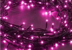yksiväriset jouluvalot