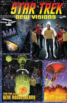 Preview: Star Trek: New Visions TPB, vol. #2, Cover - Comic Book Resources