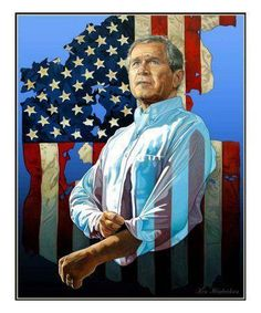 Former Governor of the State of Texas and the 43rd President of the United States of America!