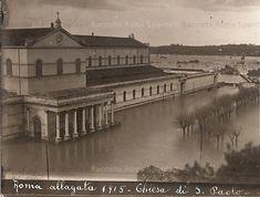 Roma Sparita - La Basilica di San Paolo fuori le Mura - Esondazione del Tevere