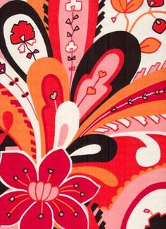 hot pepper (duralee) - this fabric pattern would make a lovely piece of art