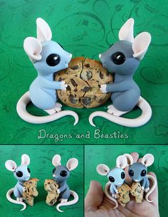 polymer clay animals Sculptober: Best Friends by DragonsAndBeasties on DeviantArt Polymer Clay Kunst, Polymer Clay Dragon, Polymer Clay Figures, Polymer Clay Sculptures, Polymer Clay Kawaii, Polymer Clay Animals, Polymer Clay Miniatures, Fimo Clay, Polymer Clay Projects