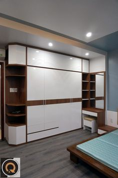 ( Room no 1 )wardrobe Furniture Design Living Room, Bedroom Closet Design, Bedroom Furniture Design, Bed Furniture Design, Bedroom Bed Design, Bed Design, Ceiling Design Bedroom, Bedroom Cupboard Designs, Bedroom Design