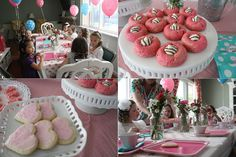 Trisha B Blog: Shabby Chic 6th Birthday Tea Party