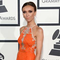 2014 Grammy Awards: Giuliana Rancic...Alex Perry Dress...gorgeous