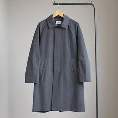 YAECA - Soutien Collar Coat Short #gray