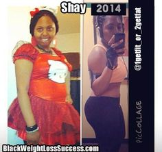 Shay lost 52 pounds | Black Weight Loss Success
