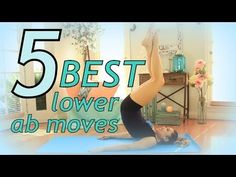 5 Best Exercises to Flatten your Lower Belly