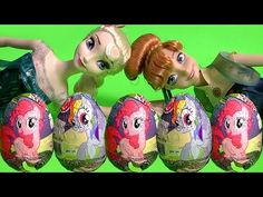 My Little Pony Chocolate Surprise Easter Eggs MLP Mi Pequeño Poni Huevos Sorpresa 6-pack - YouTube
