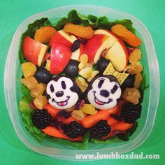 Mickey and Minnie Mouse, Classic style @lunchboxdad