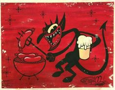Un dimoni que frueix de l'infern!