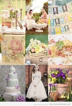 Decoraci n ideas y detalles para boda de primavera en un for Boda en un jardin
