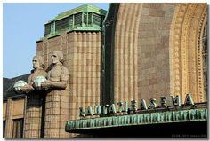 Helsinki rautatieasema by Eliel Saarinen