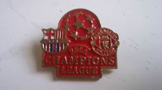 Pin Badge FC Barcelona-Manchester United Final Champions League