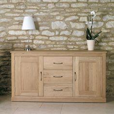 Bonsoni Mobel Oak Large Sideboard  Superb contemporary large oak sideboard  https://www.bonsoni.com/mobel-oak-large-sideboard