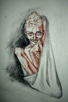 Drawn by a paranoid schizophrenic