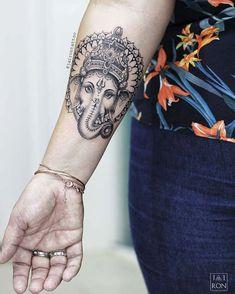 Ganesha Tattoo by jairontattoo
