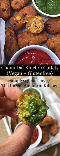 Chana Dal Cutlets are super easy to make using leftover khichdi and repurposing it into delicious Cutlets. If you are looking for recipes that uses leftover food then it is a perfect recipe for you. #vegansnacks #glutenfreesnacks #khichdi #chanadalrecipes #cutlets #vegetariankebabs