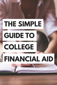 Everything you need to know about college financial aid!