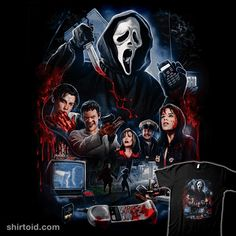 Don't You Blame the Movies | Shirtoid #film #ghostface #horror #movies #samc #scream