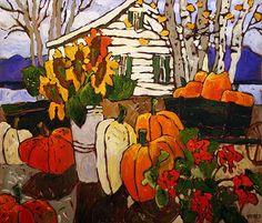 Claude A. New York Museums, Museum Of Fine Arts, Art Museum, Abstract Landscape, Landscape Paintings, Canadian Painters, Galerie D'art, Z Arts, Vase