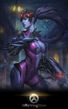 Overwatch - Widowmaker Artwork